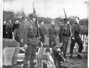 German Heer honoring British war dead.