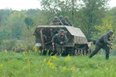 Re-enactors of the 2nd Panzer Division located in the United States
