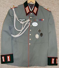 Waffenrock - Major Panzer Artillerie Rgt 80. Order Catalog for http://soldat.com/ or Soldat FHQ on Facebook.