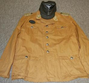 Eugen Meindl's tunic from Russia Summer 1942. Order Catalog for http://soldat.com/ or Soldat FHQ on Facebook.