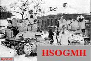 Flakpanzer I's in the Russian winter.