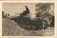Panzer II. Special Collection of Photos from Boelcke's Grandfather from the Battle of France. Credit- Boelcke.