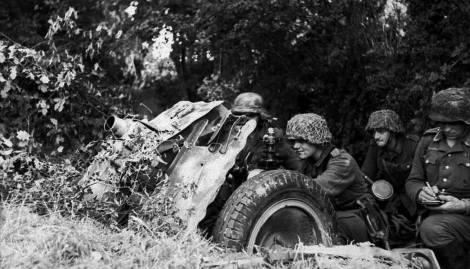 75mm Inf Gun, France June 21st 1944.
