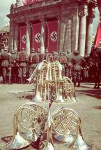 Rally in celebration of Adolf Hitler's 50th birthday, Berlin, April 20, 1939.
