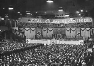 Joseph Goebbels Sports Palace speech.