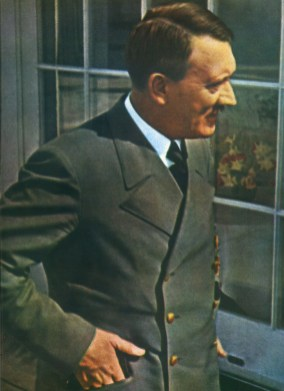 Adolf Hitler at Berghof.