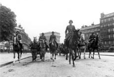 German troops in Paris.