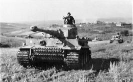 Tiger tank Company Das Reich during the Battle of Kursk.