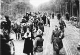 East Prussian refugees towards the end of the war.