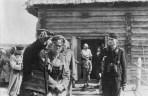 General Guderian at a forward command post of a Panzer regiment near Kiev, 1941.