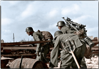Fighting in Stalingrad, October 1942.