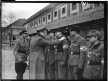 Hitler with Hitler Yout Members.