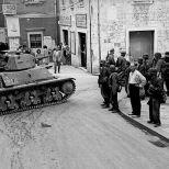 Hotchkiss in German service, Split, Croatia September 1943.
