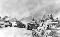Advancing during Barbarossa.