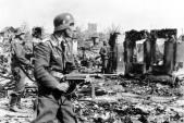 Luftwaffe Troops at Stalingrad.
