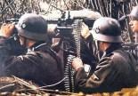 Feldgendarmerie MG 34 team.