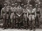 Ritterkreuz Award Ceremony for Fallschirmjagers with Hitler.