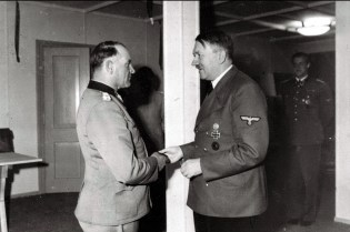 Sepp Dietrich and Adolf Hitler O