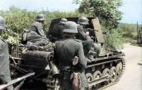 Panzerjäger I advances.