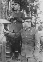 Semyon Timoshenko and Georgy Zhukov in 1940.