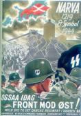 SS Recruitment Poster in Denmark.