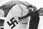 Schnaufer showing his victories.