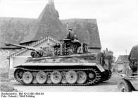 Tiger 1 on the 1st SS Panzer Division.