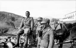 Foreign volunteer battalion in the Wehrmacht. Soldiers of the Free Arabian Legion in Greece, September 1943.