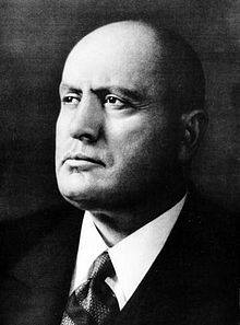 Head of Government of Italy and Duce of Fascism.