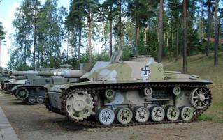 Sturmgeschütz III Ausf. G, on display at the Parola Tank museum.