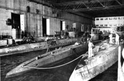 U-boat pens in France.