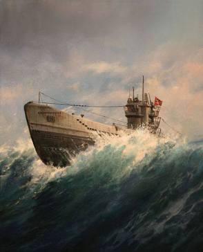 U-Boat, by Augusto Ferrer-Dalmau.