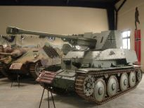 Marder III at the Musée des Blindés - Tank Museum - France