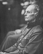 Rundstedt as a witness at the Nuremberg Trial.
