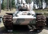 Finnish KV-1E, on display at the Parola Tank Museum - Finland.