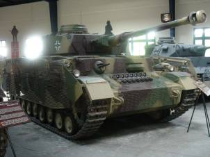 Panzer IV at the Musée des Blindés - Tank Museum - France.