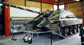 Jagdpanther at the German Tank Museum.