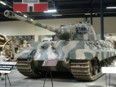 Tiger 2 - Only working one in the world at the Musée des Blindés - Tank Museum - France.