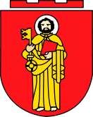 Trier Coat of Arms and possibly the oldest city in Germany. Founded in 16 BCE.