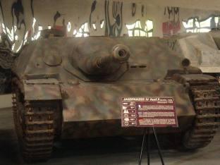 Jagdpanzer IV at the Musée des Blindés - Tank Museum - France.