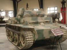 Panzer II at the Musée des Blindés - Tank Museum - France.