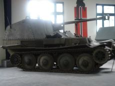 Marder III Ausf. M at the Musée des Blindés - Tank Museum - France.