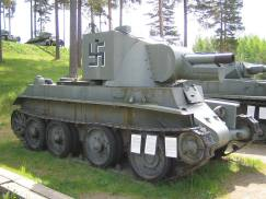 A Finnish BT-42.