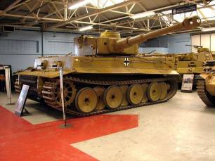 Fully restored German Tiger 1.