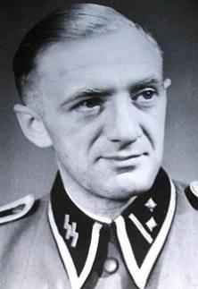 SS Hauptscharfuehrer Gustav Weissenborn.