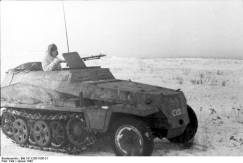 Sd.Kfz. 250/2 on the Eastern Front.