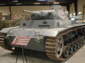 Panzer III at the Musée des Blindés - Tank Museum - France.