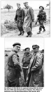 Sturmbannfuhrer Rolf Schulz, M.D.