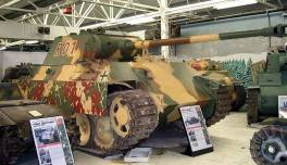 Panther at the The Bovington Tank Museum - England.