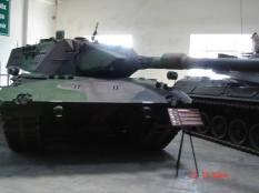 Leopard 2 at the Musée des Blindés - Tank Museum - France.